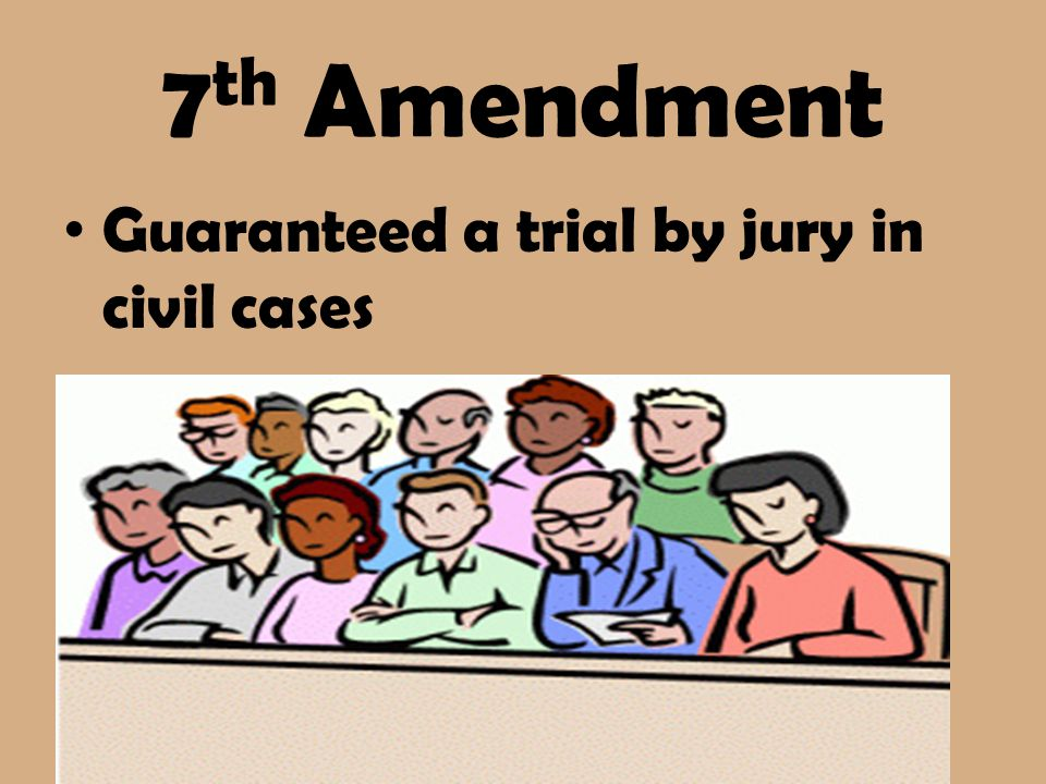 7th amendment examples