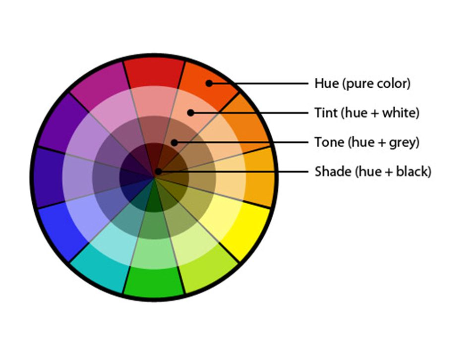 6 Warm Colors Red Orange Yellow Think Sun Cool Blue Green Purple Water Complementary Opposite Pairs On