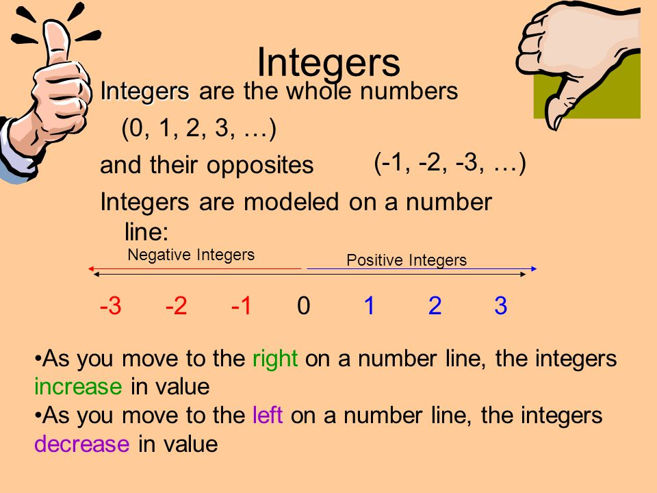 Integers and Absolute Value - ppt download