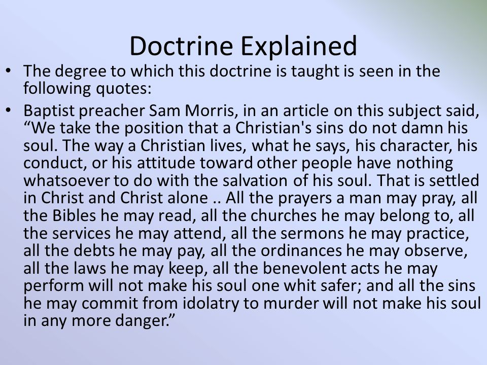 Doctrine degree