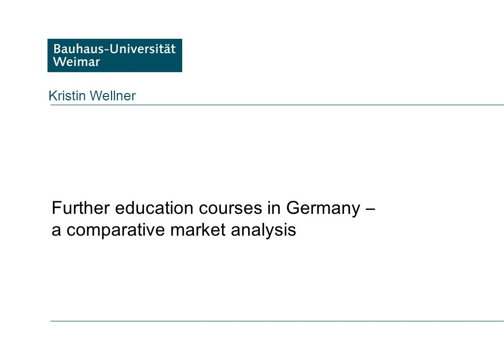 A Comparative Analysis Of LifeLong Learning In Germany And The