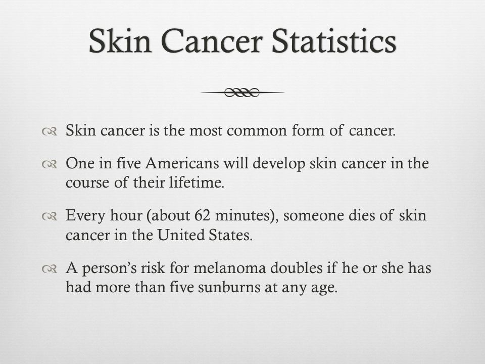 """What is skin cancer?What is skin cancer?  """"The uncontrolled ..."""