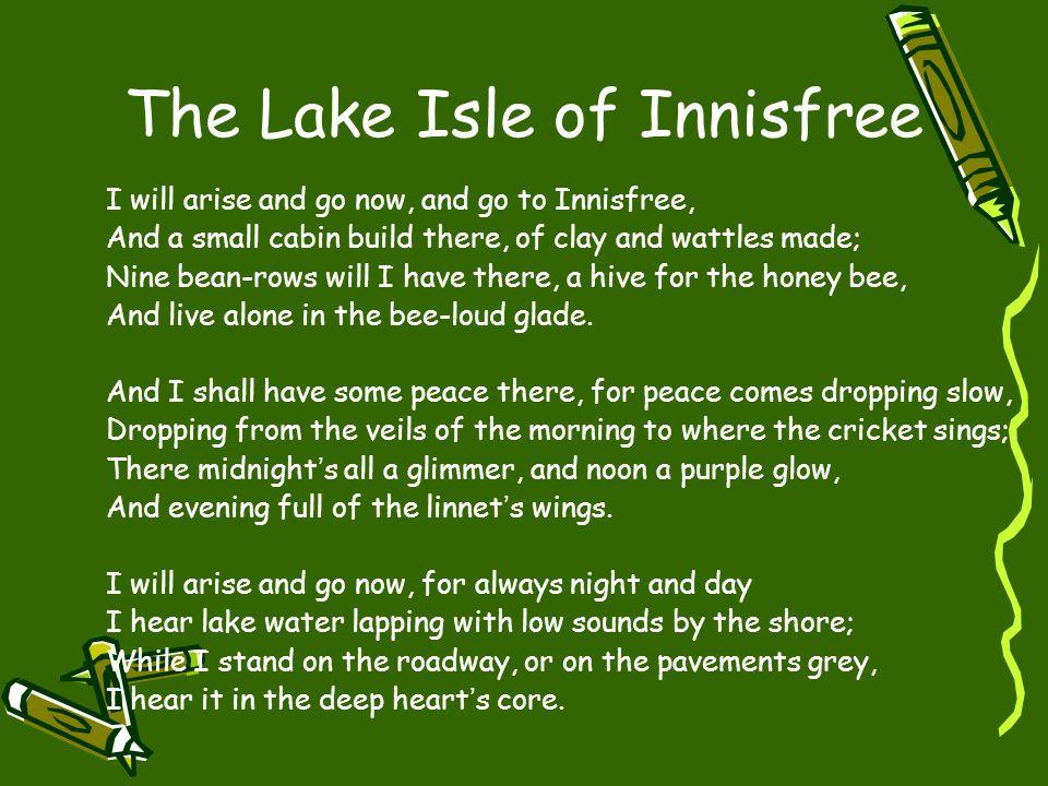english lake isle of innisfree