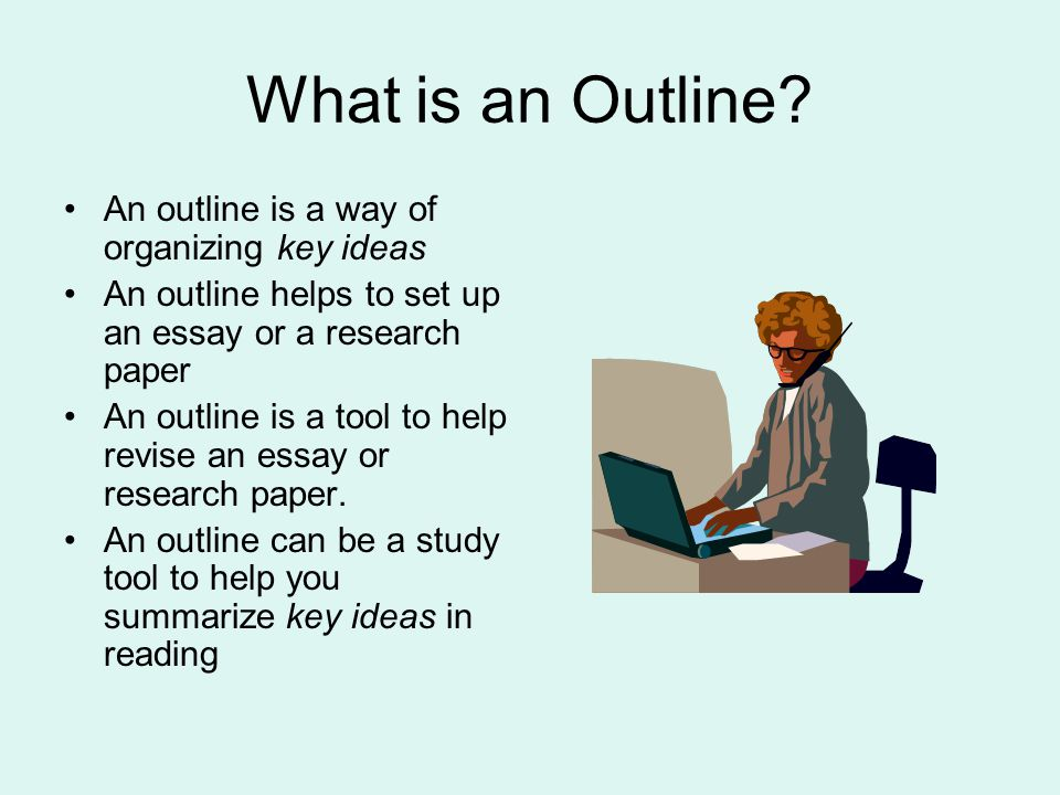 does outline help writing essay