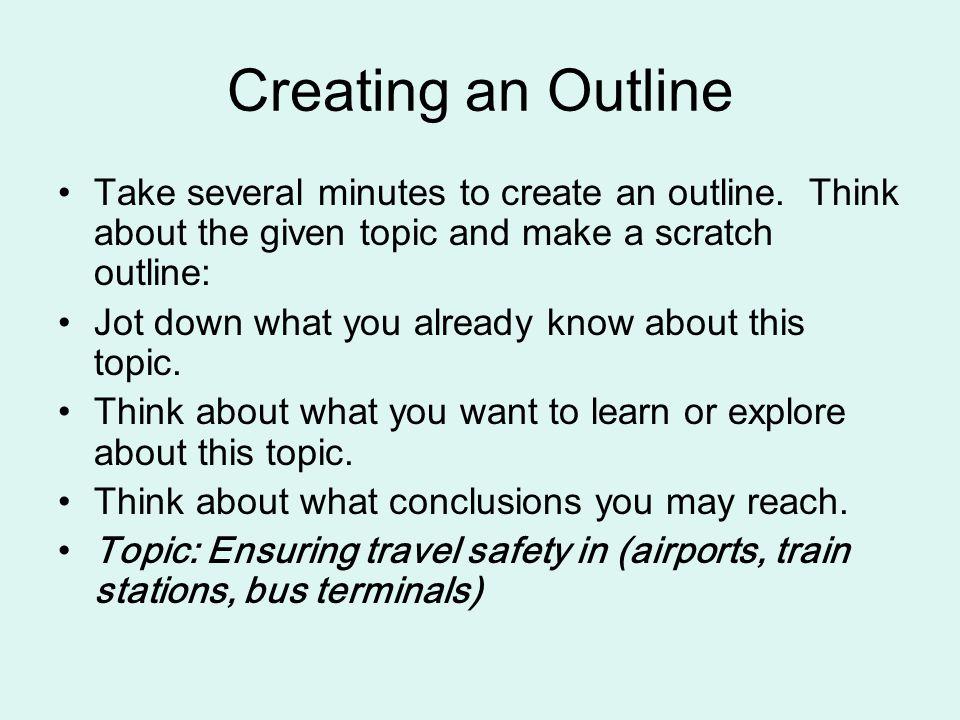 How To Make Outline For Essay