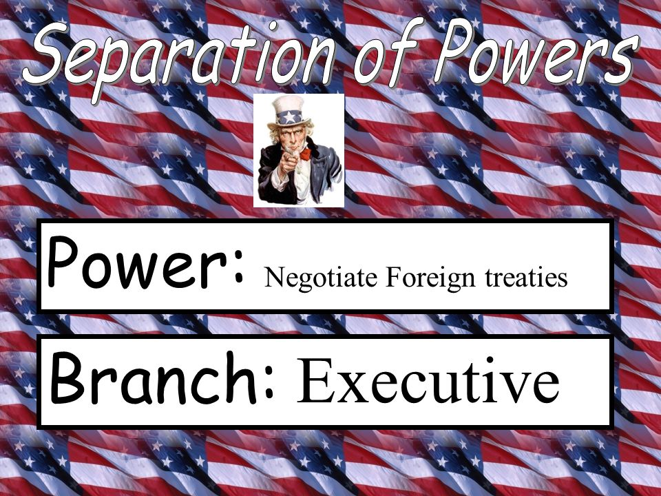 Power: Commander and Chief Branch: Executive