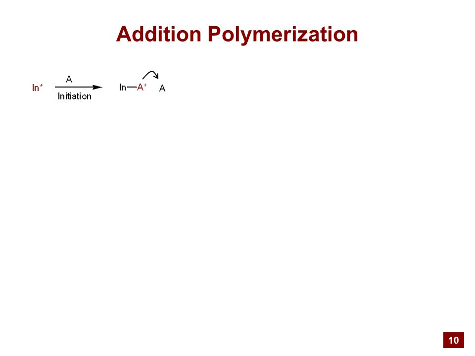 10 Addition Polymerization A