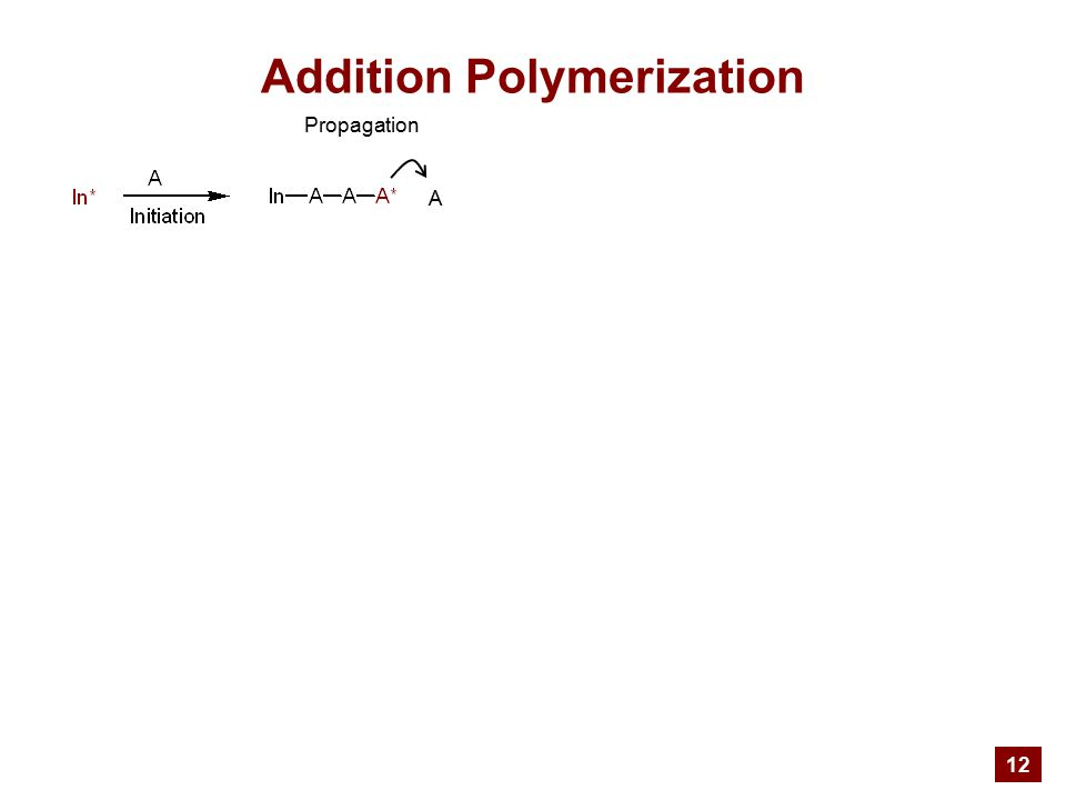 12 Addition Polymerization Propagation A