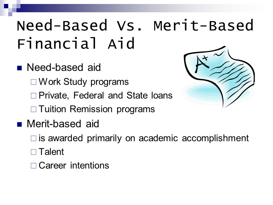 Need-Based Vs.