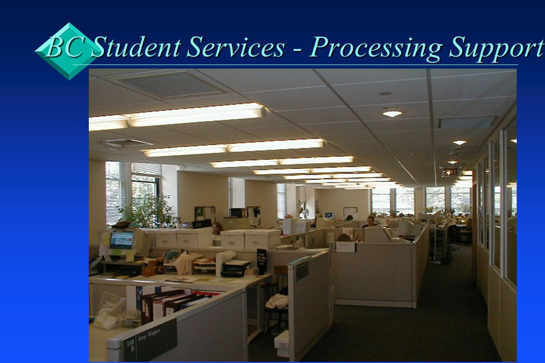 BC Student Services - Processing Support