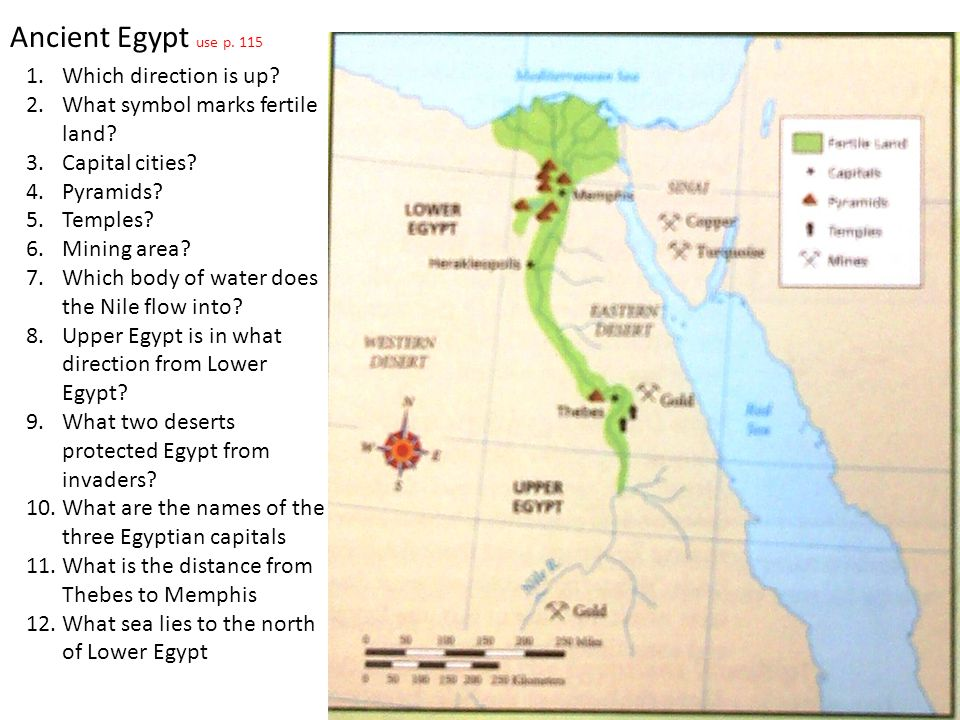 Map Of Ancient Egypt With Questions Ancient Egypt Use P Which - Map of egypt with pyramids
