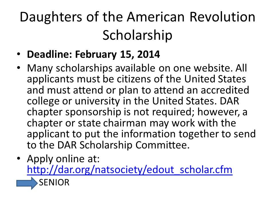 Scholarship Applicant must demonstrate: Character Leadership Seriousness of purpose Service to others?