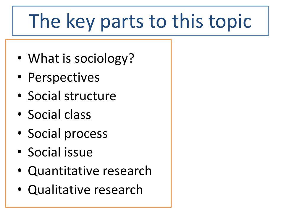 Social Issue Topics...?