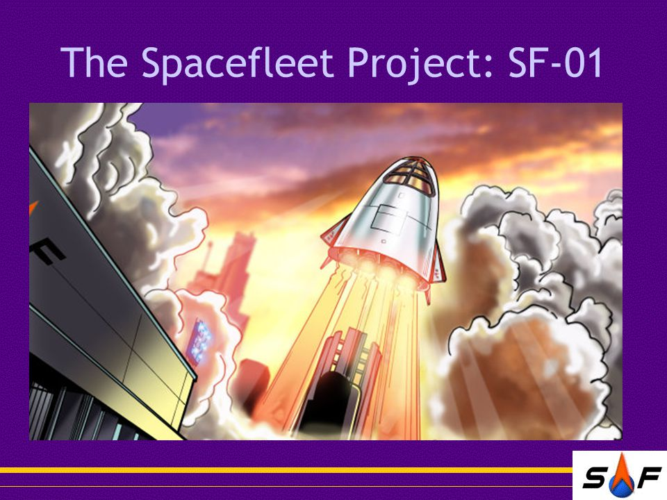 The Spacefleet Project: SF-01
