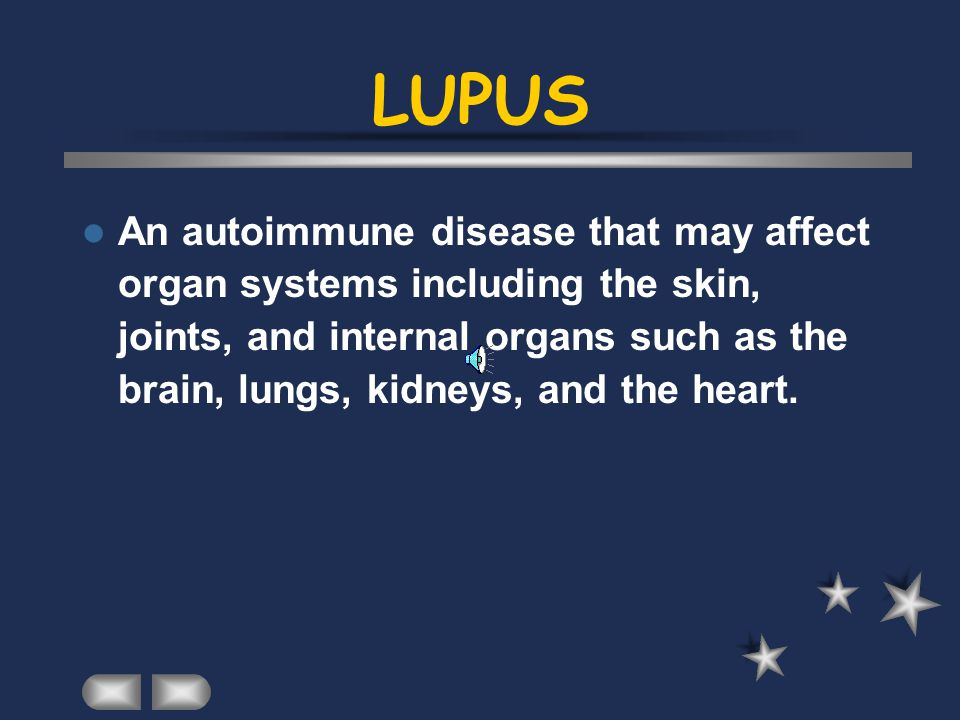 LUPUS By Sharmeen Teen Health 4 Old Orchard Junior High 1999
