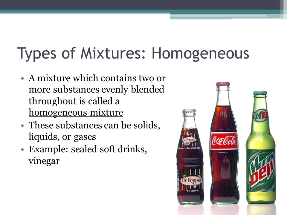Is A Glass Of Cola A Homogeneous Mixture - Hitman Game