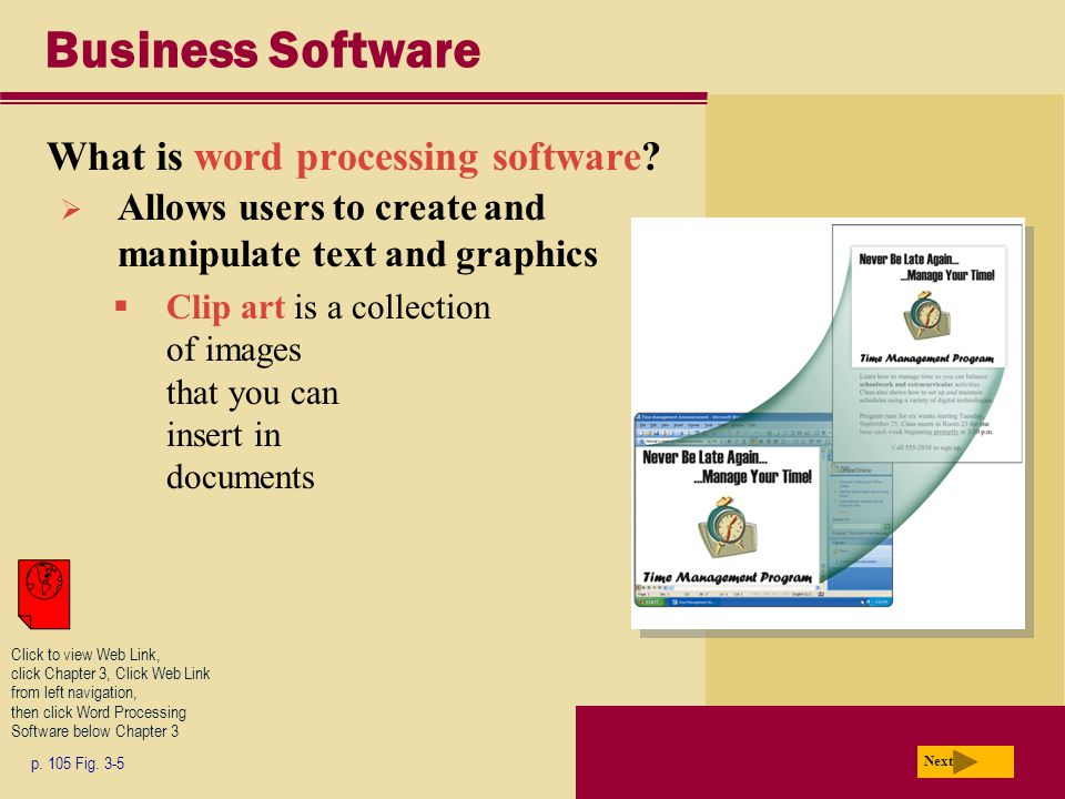 Business Software What is word processing software.