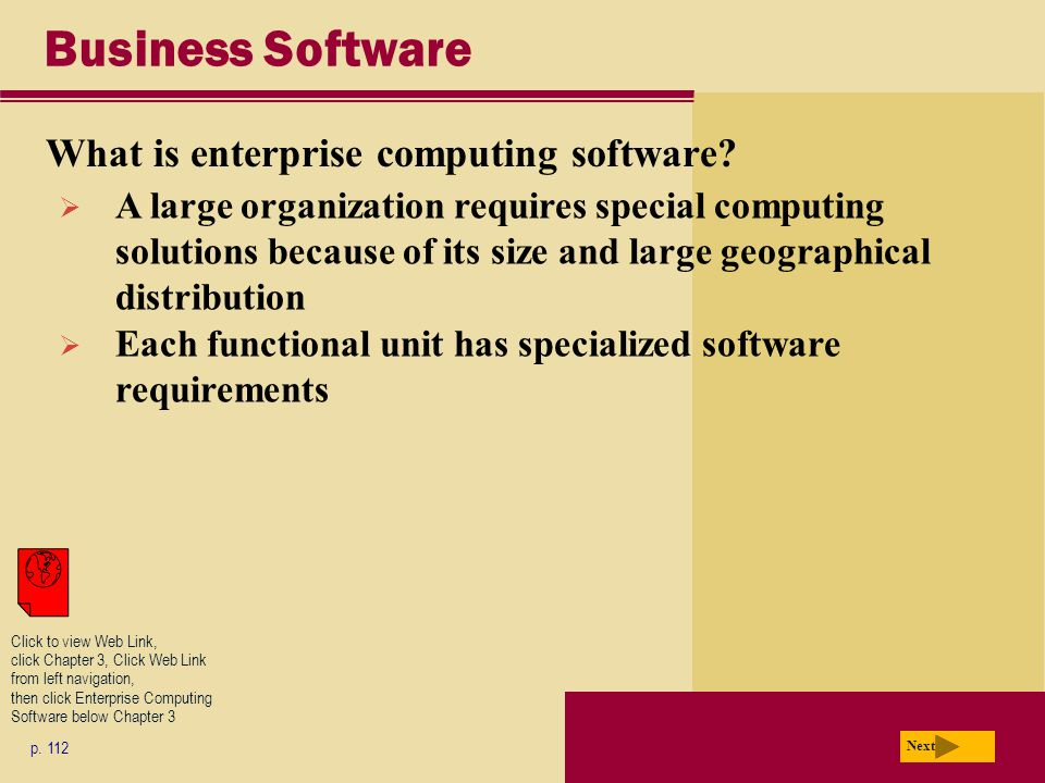 Business Software What is enterprise computing software.