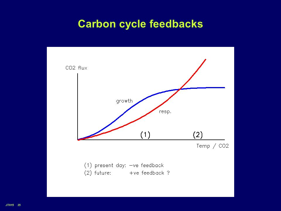 JTH15 35 Carbon cycle feedbacks