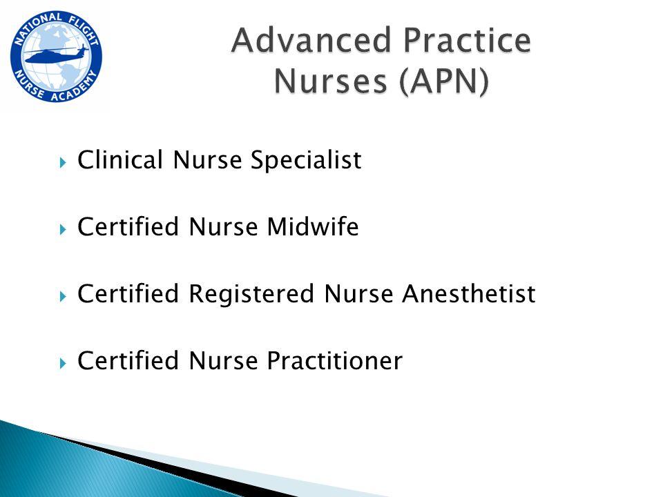 Christopher Manacci, MSN, ACNP The National Flight Nurse Academy ...