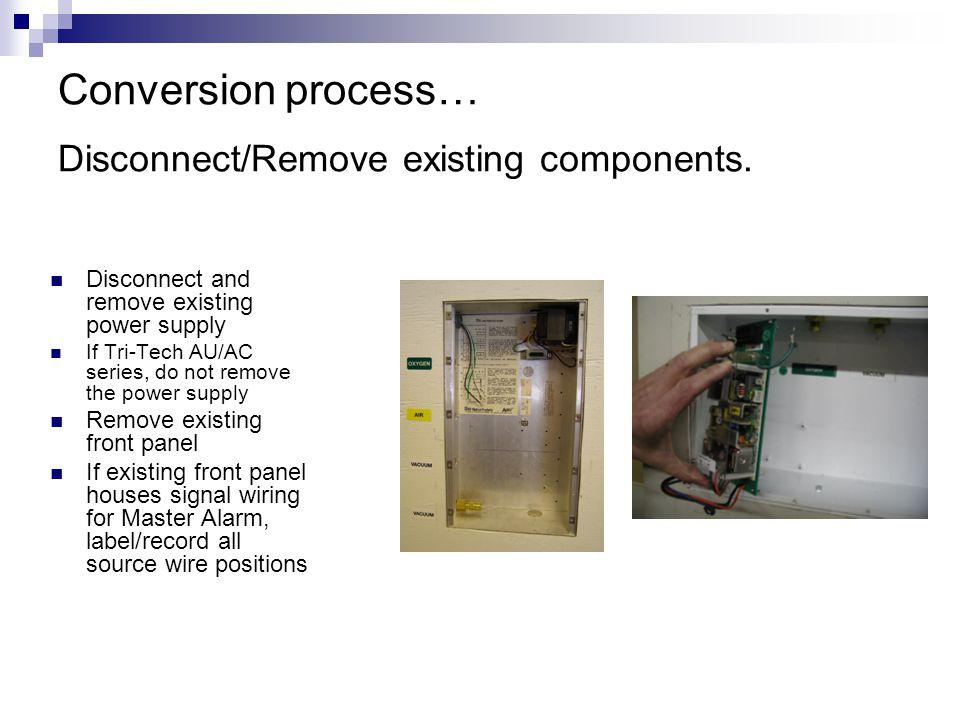 slide_9 tri tech medical medical gas alarm panel conversion kits ppt medical gas alarm panel wiring diagram at gsmx.co