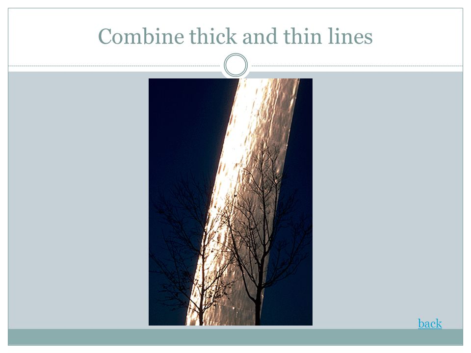 Combine thick and thin lines back