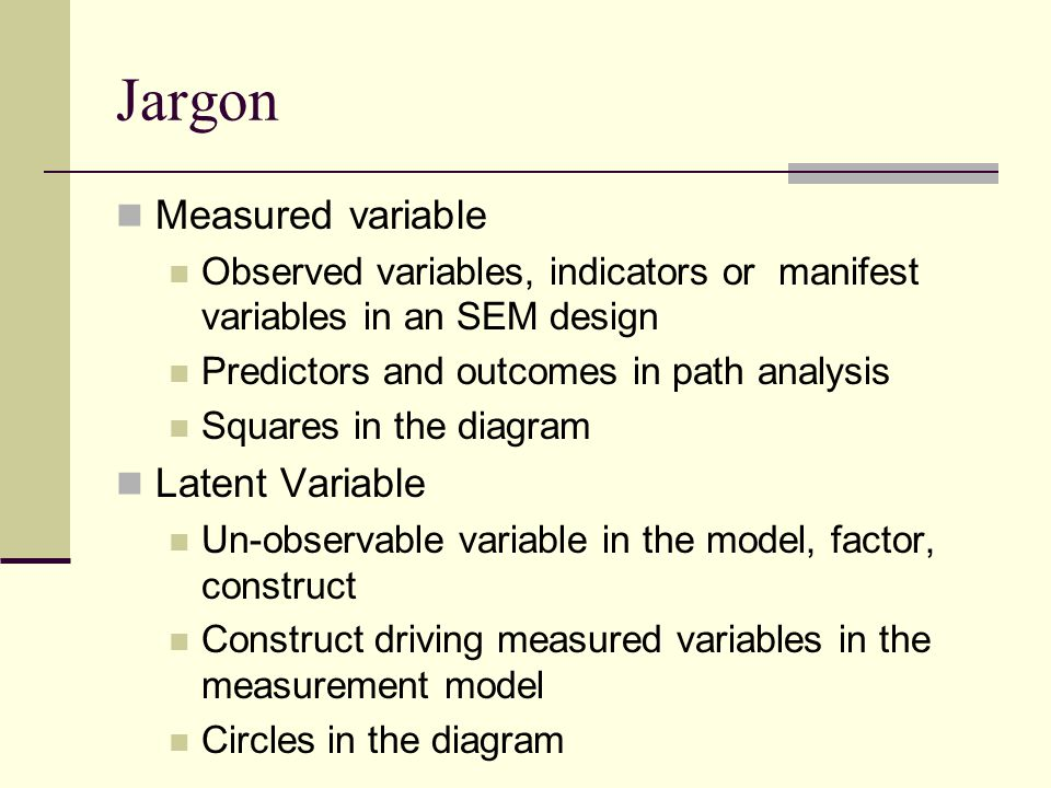 Structural equation modeling intro to sem psy 524 ainsworth ppt 4 jargon measured variable ccuart Choice Image