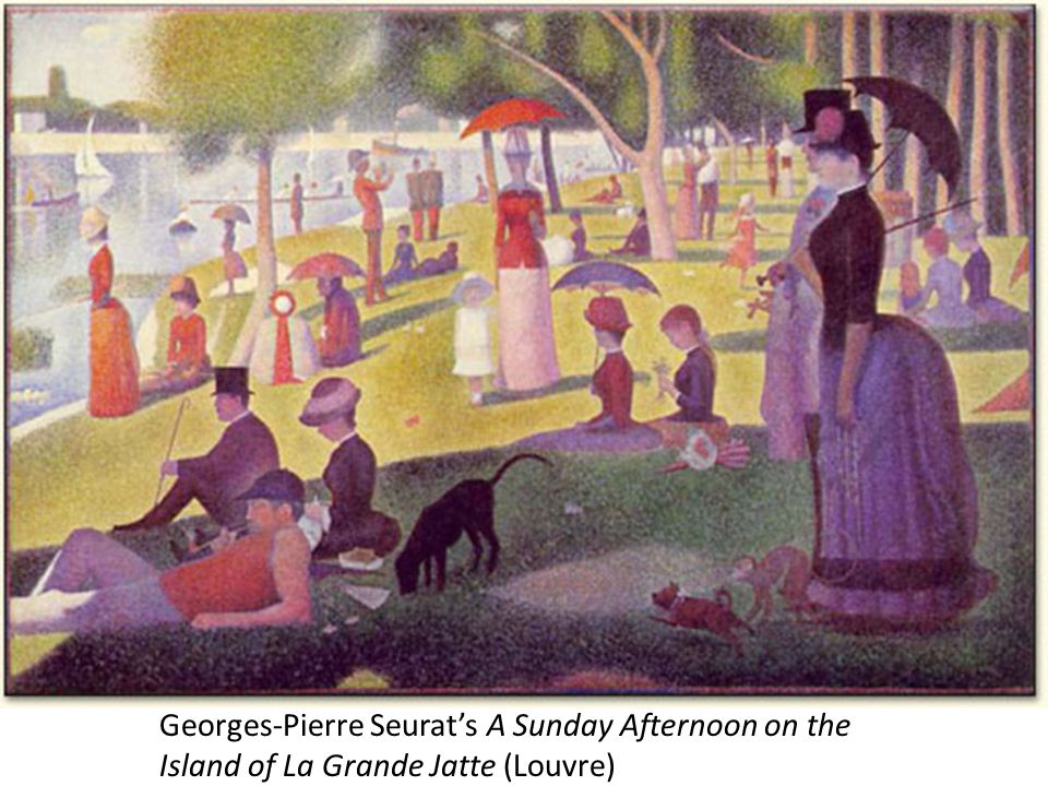 Georges-Pierre Seurat's A Sunday Afternoon on the Island of La Grande Jatte (Louvre)