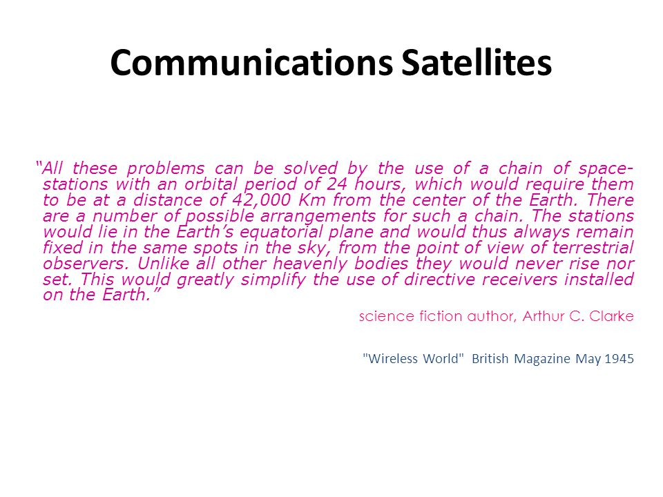 Satellite networks research paper
