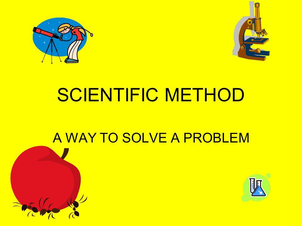 Steps to solve a problem