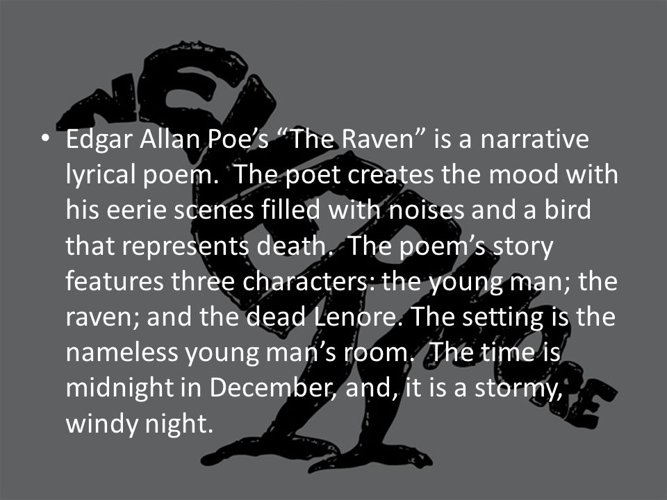 the raven by edgar allen poe essay
