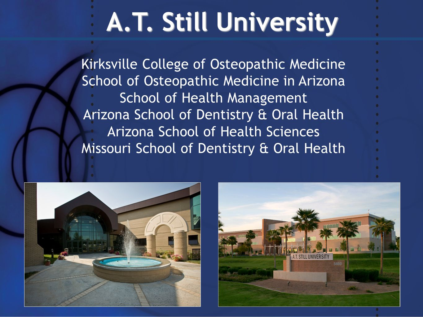 Arizona physical therapy schools - Doctor Of Physical Therapy 2 A T