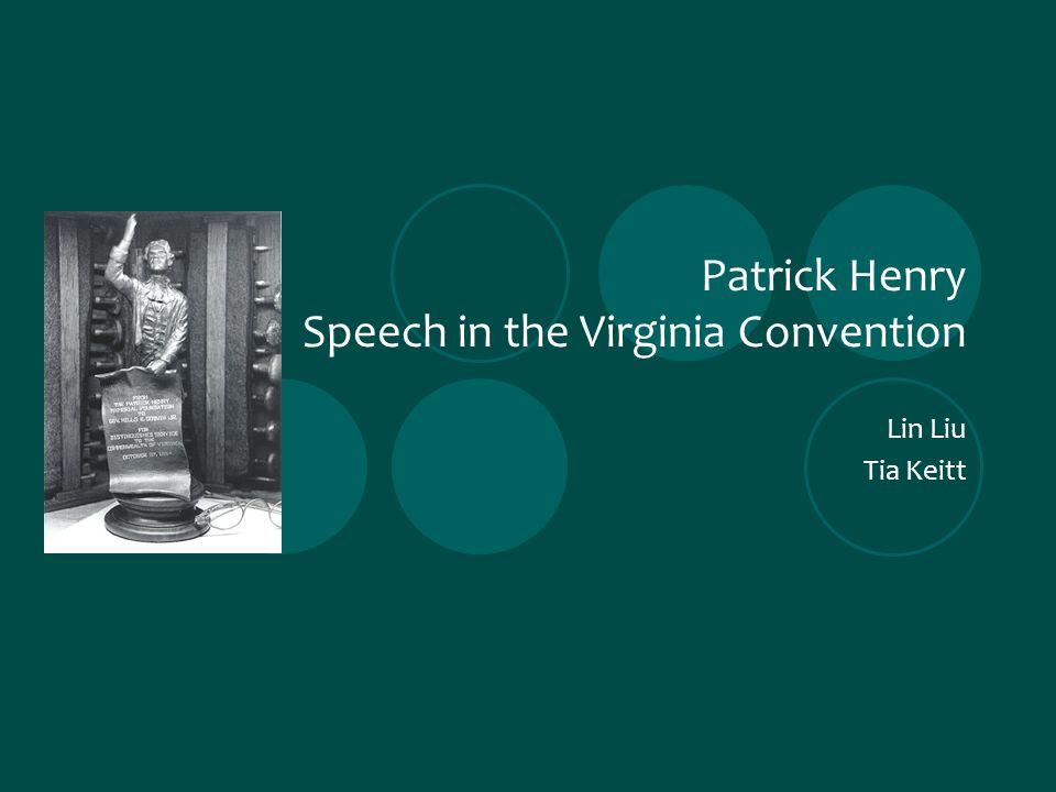patrick henry rhetoric essay