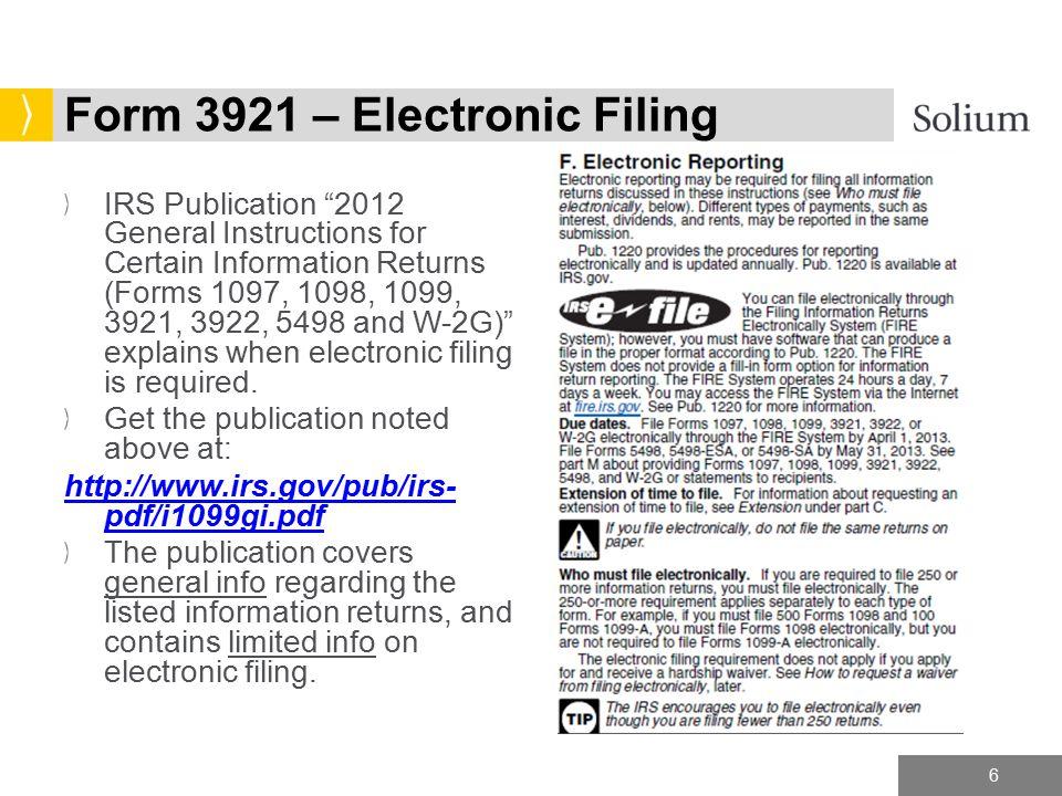 Form 3921 Denmarpulsar