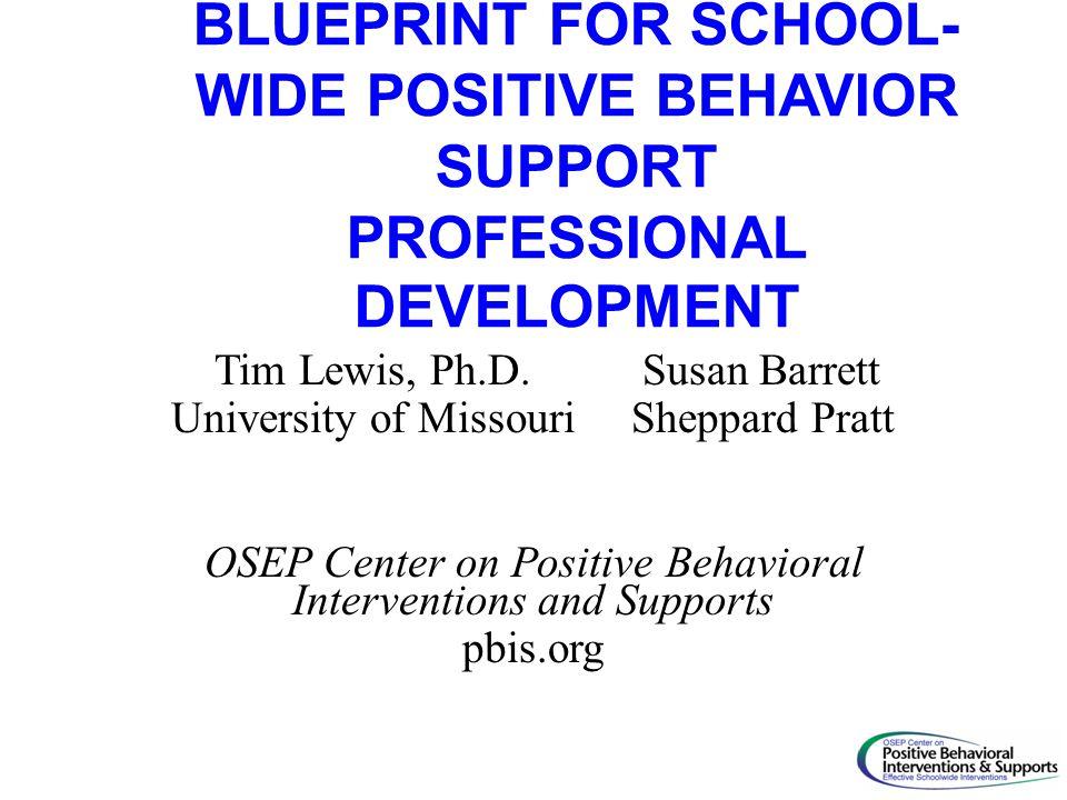 Blueprint for school wide positive behavior support professional 1 blueprint malvernweather Images