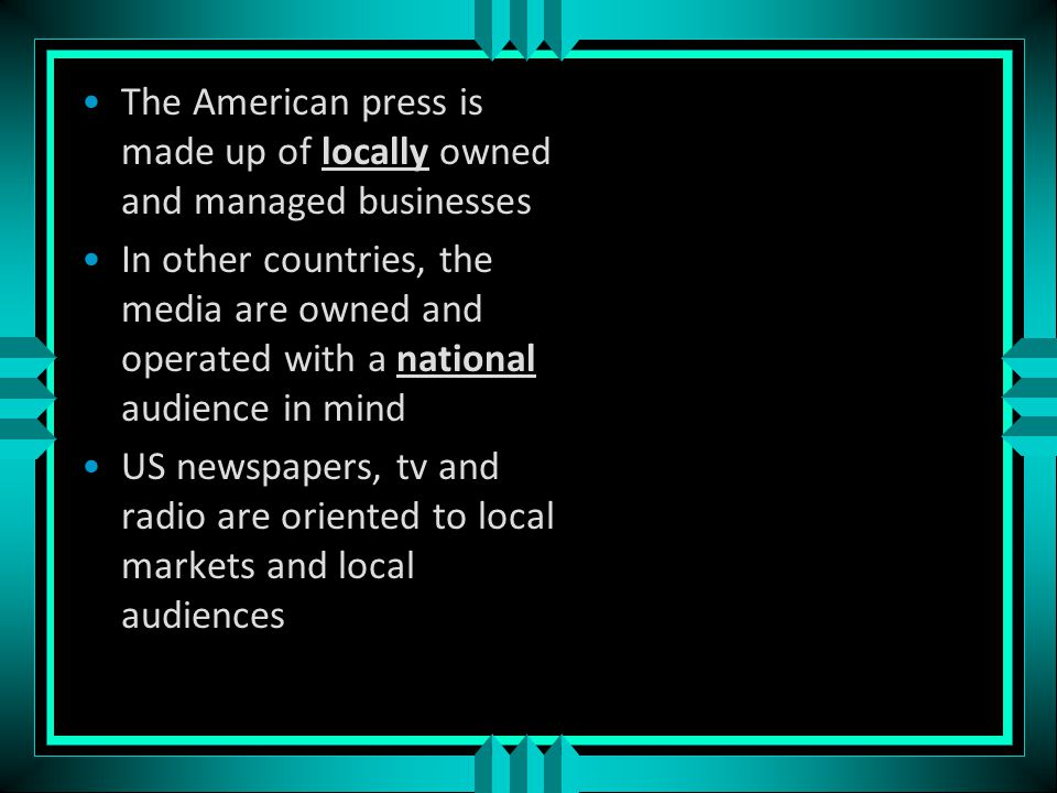 Radio and TV are becoming more competitive Over 1,000 local television stations Over 11,000 cable stations Almost 10,000 radio stations Some broadcast nothing but news Some have a specialized following