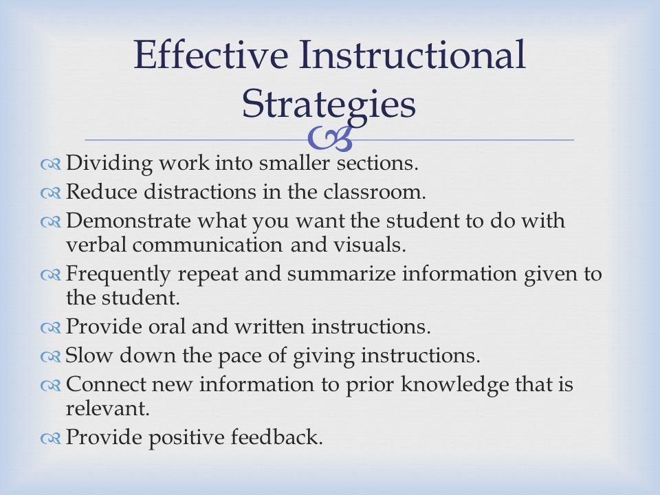 Effective Instructional Strategies Essay Essay Service