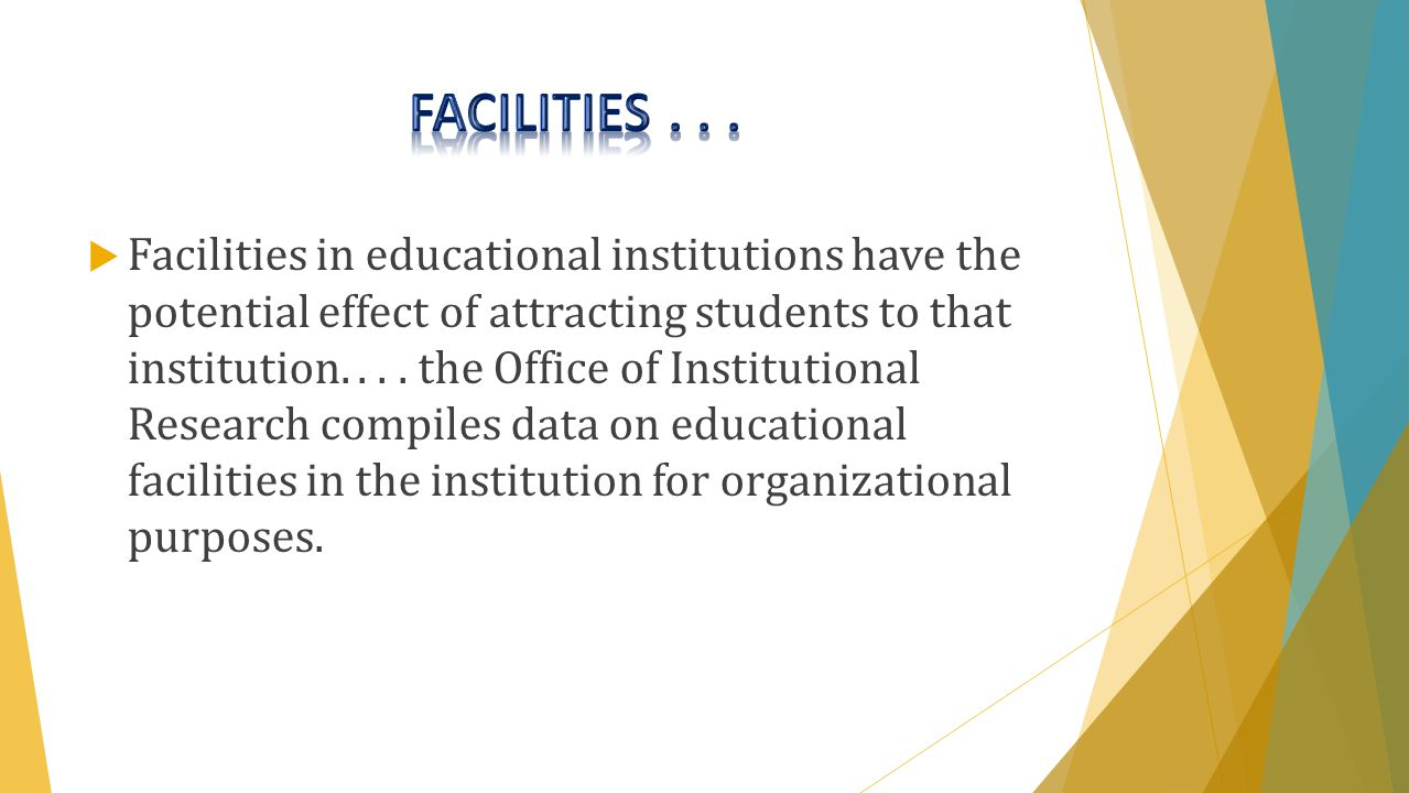  It also makes the administration aware of educational programs or fields of study that are or are not attracting and maintaining students through graduation.