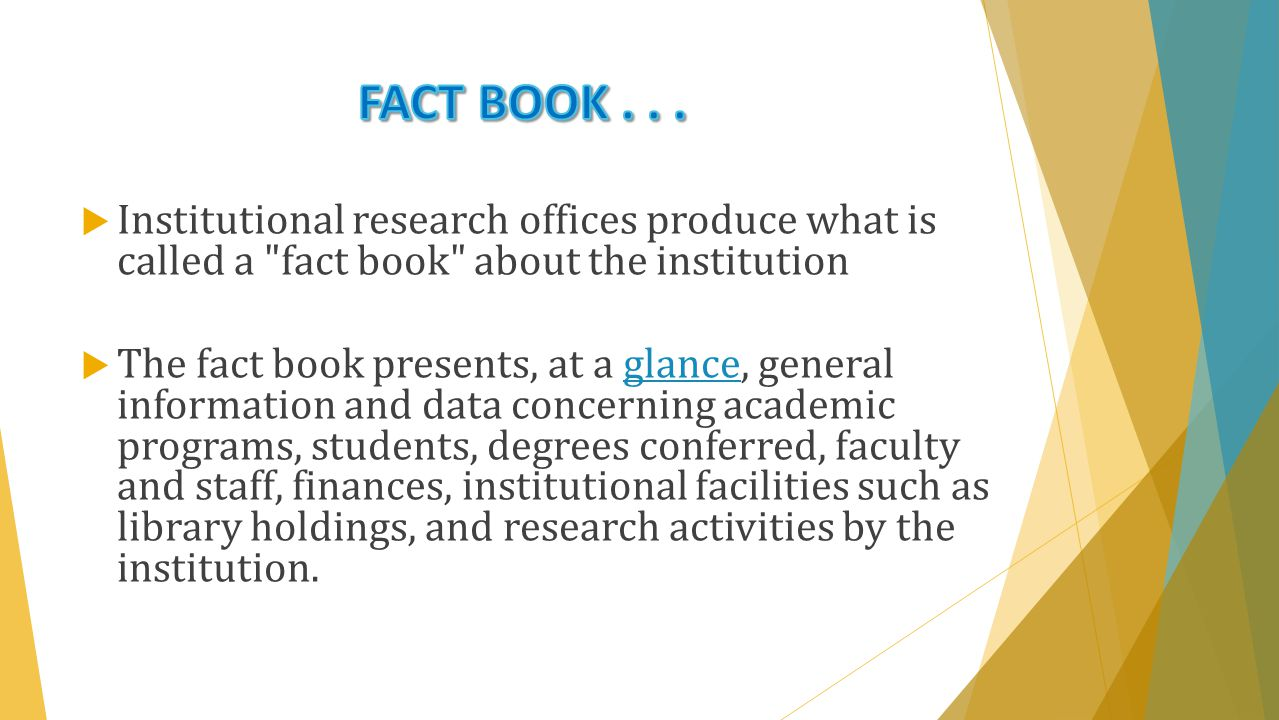  The Office of Institutional Research at the end of every term or year also examines and evaluates the performance of its program faculty.