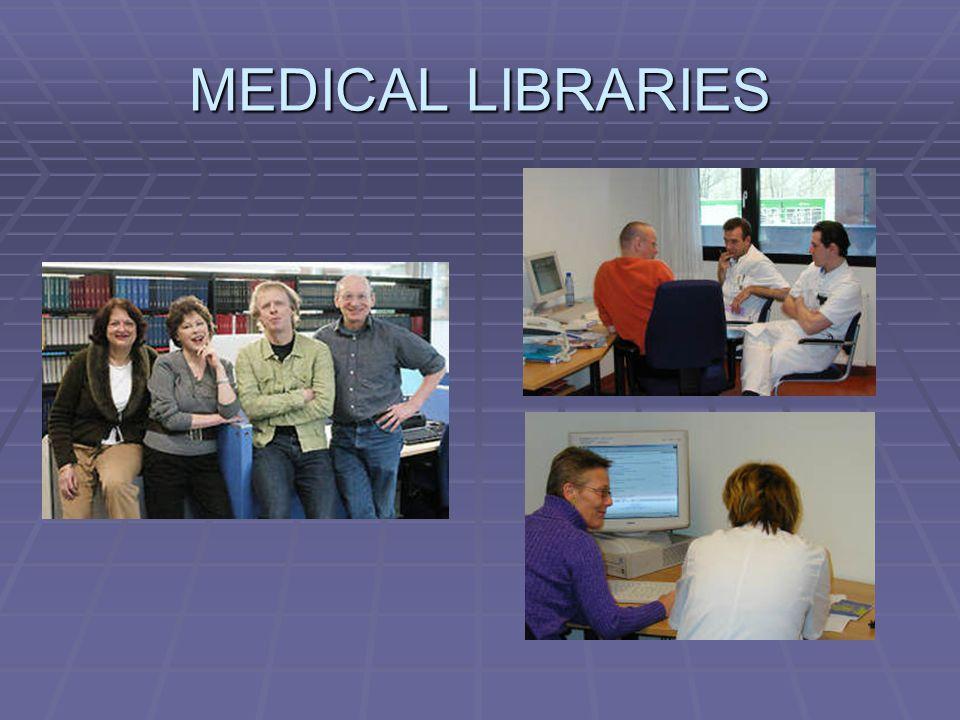 MEDICAL LIBRARIES