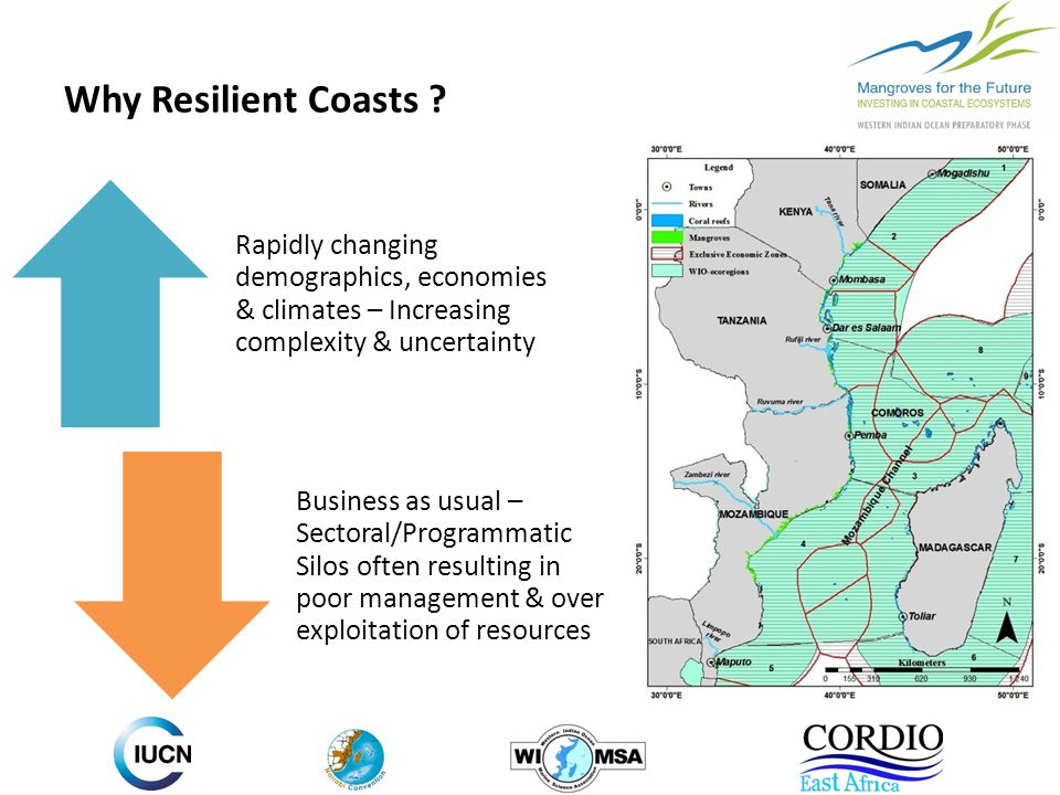 Why Resilient Coasts .