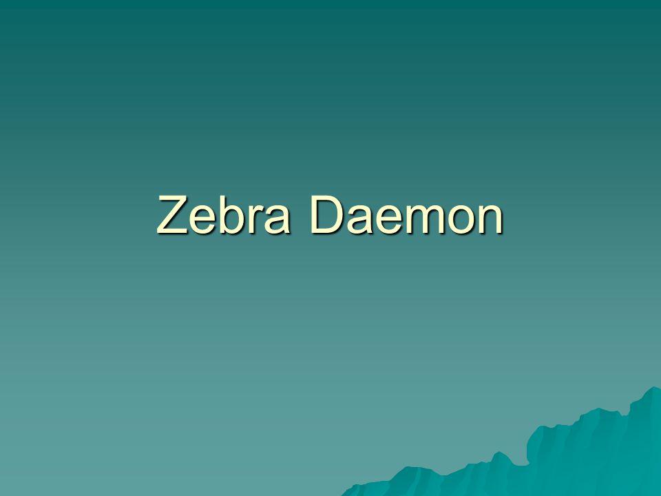 Zebra Daemon
