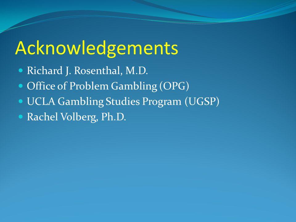 Ucla problem gambling program bellaggio casino