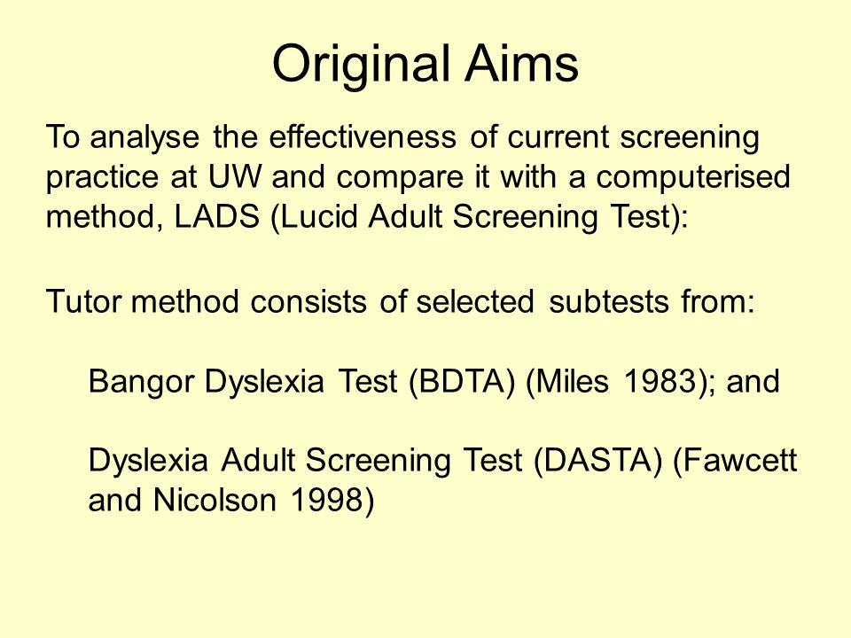 Adult Dyslexia Diagnosis
