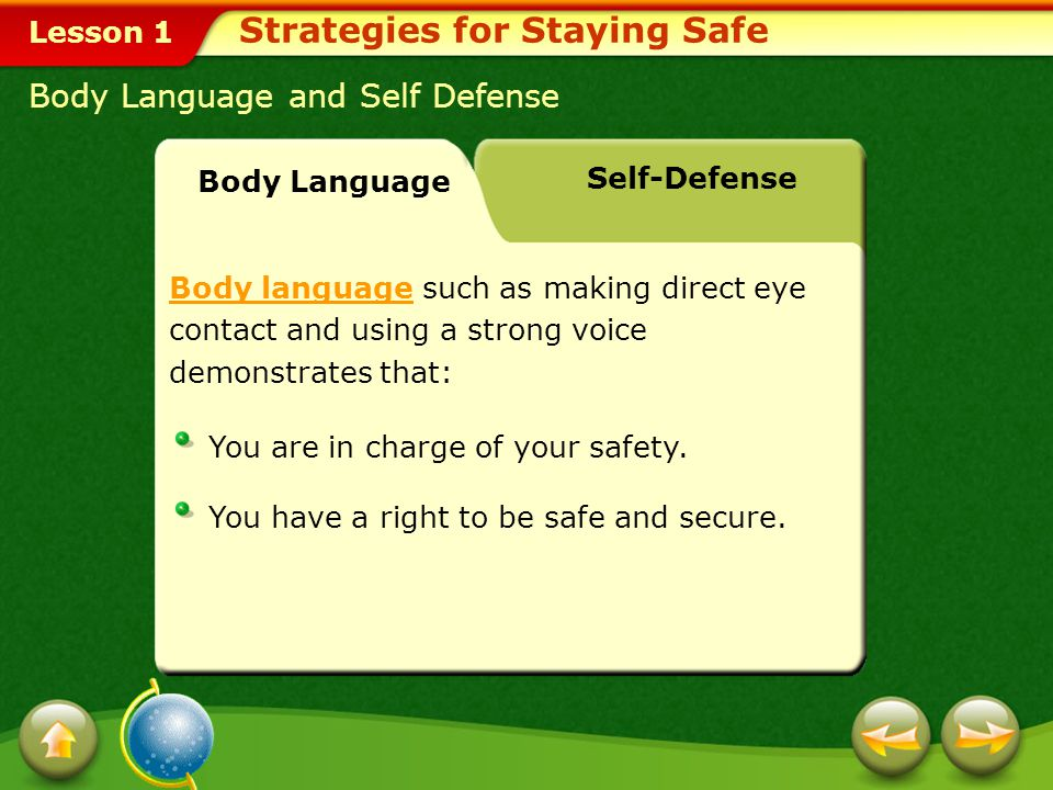 Lesson 1 Smart Precautions Strategies for Staying Safe Avoid unsafe areas.