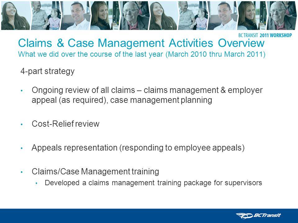 claims management course