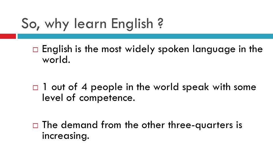WHY LEARN TO SPEAK ENGLISH Facts Figures And Information To - What is the most widely spoken language in the world