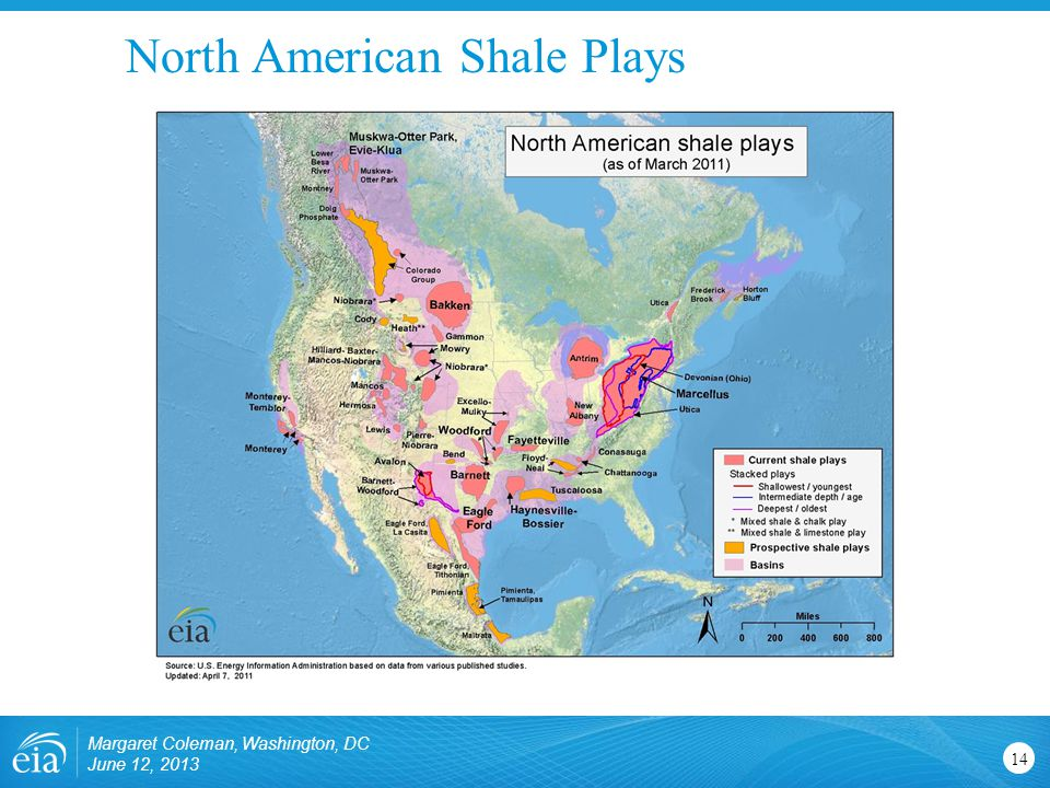 North American Shale Plays Margaret Coleman, Washington, DC June 12,