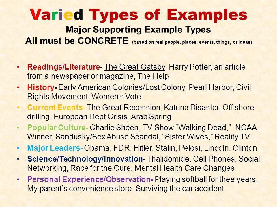 ssat essay examples