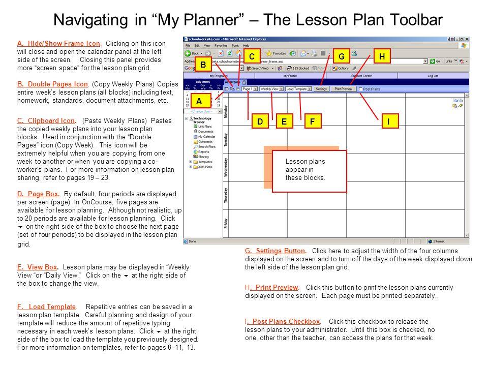 Organize Share Analyze Lesson Plan User Guide Lesson Plan